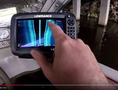 Lowrance HDS Carbon Side Scan Under a Bridge