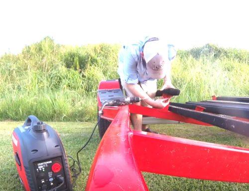 Replacing Trailer Bunks With Craftsman Inverter Generator 2200i